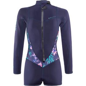 Roxy 2/2 Syncro Series Spring FLT Back Zip Longsleeve Wetsuit Damen blue ribbon